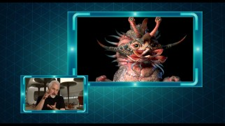 Make-up effects legend Rick Baker discusses one of the more adorable aliens present in the Wu's Chinese restaurant scene.