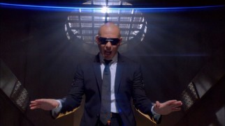 "Rapper Pitbull performs the end credits song ""Back in Time"", whose music video is included on Blu-ray and DVD."