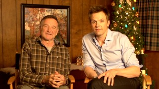 "Robin Williams and Joel McHale use humor to sell the movie in this ""sizzle reel"" interview."