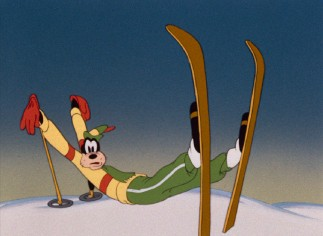"It's probably not a good idea to learn ""The Art of Skiing"" from Goofy."