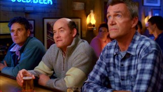 Mike's (Neil Flynn) seemingly perfect friendship with a new neighbor (David Koechner) is short-lived after he discovers it's the product of his wife's plotting.