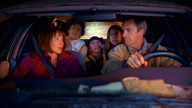 "Realizing they can't do three children justice, Frankie (Patricia Heaton) and Mike Heck (Neil Flynn) decide to try parenting one kid at a time in ""The Middle."""