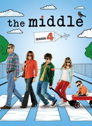The Middle: Season 4 DVD cover art - buy from Amazon.com