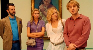 Gil (Owen Wilson) relishes the chance to use his fantastic experiences to show up his fiancée (Rachel McAdams) and her pedantic friend (Michael Sheen) in an art gallery.