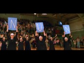 This singing, dancing nun halftime spectacle is one of three deleted scenes.