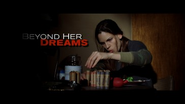 "Maggie (Hilary Swank) saves her coins in the theatrical trailer for ""Million Dollar Baby."""