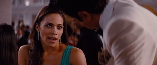 Jane Foster (Paula Patton) tries her hand at seducing an Indian billionaire in the film's climax.