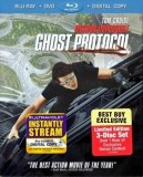 Mission: Impossible - Ghost Protocol 3-Disc Limited Edition Blu-ray + DVD + Digital Copy combo pack cover art