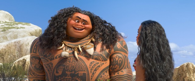 Moana needs the services of disgraced, egotistical demigod Maui to fulfill her hero's journey.