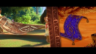 """Fishing for Easter Eggs"" points out an appearance made by the Magic Carpet from ""Aladdin."""