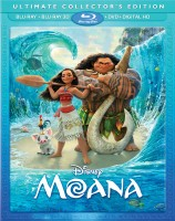 Moana: Ultimate Collector's Edition Blu-ray 3D + Blu-ray + DVD + Digital HD combo pack cover art -- click to buy from Amazon.com
