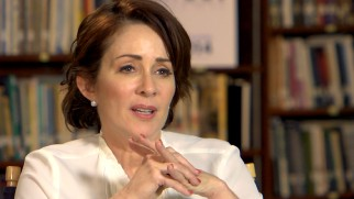 "Patricia Heaton discusses ""The Heart of 'Moms' Night Out'"", a film she executive produces in addition to co-starring in."