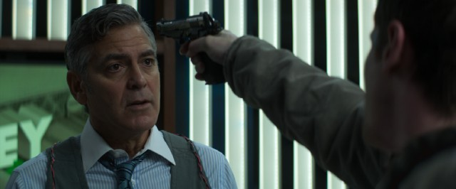 "In ""Money Monster"", bold financial TV host Lee Gates (George Clooney) finds himself the hostage of a disgruntled young man."