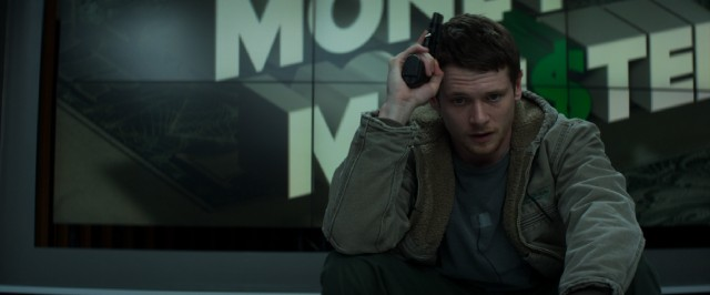 "In ""Money Monster"", Kyle Budwell (Jack O'Connell) is mad as hell and not going to take it anymore."