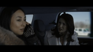 IBIS' Irish CCO Diane Lester (Caitriona Balfe) clashes with her boss' translator (Greta Lee) in this deleted scene.