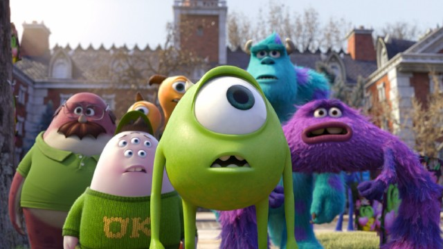 Monsters University Blu Ray Dvd Review