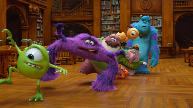 College Life As Told By Monsters University