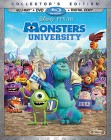 Monsters University Blu-ray 3D + Blu-ray + DVD + Digital Copy cover art -- click to read the press release.
