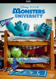 Monsters University Blu-ray, Blu-ray 3D, and DVD Press ...