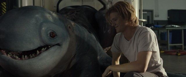 "A newly-discovered sea monster befriends a teenage boy named Tripp (Lucas Till) in ""Monster Trucks."""