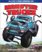 Monster Trucks: Blu-ray + DVD + Digital HD combo pack cover art - click to buy from Amazon.com