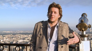 "Commenting from an observation deck, Australian Luke Bracey is one of three hunks celebrated in ""Ding Dang Delicious: The Boys of 'Monte Carlo.'"""