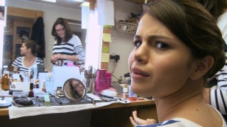 "Selena Gomez is transformed into Cordelia Winthrop-Scott by the power of make-up, as seen in ""Backstage Pass."""