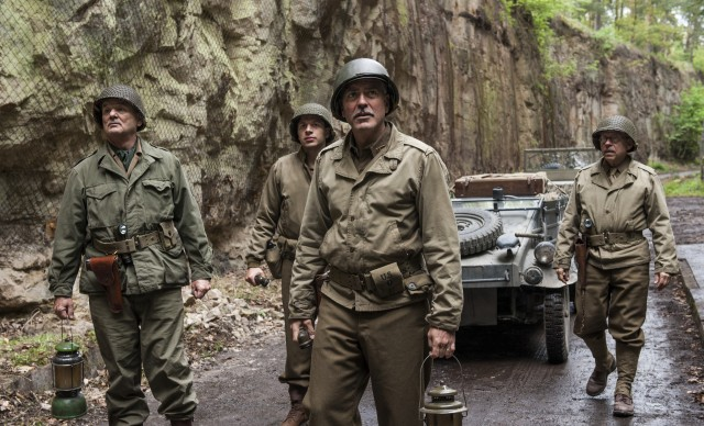 At the end of World War II, Frank Stokes (George Clooney) leads the Monuments Men into the center of Europe to protect works of art from Nazi plundering.