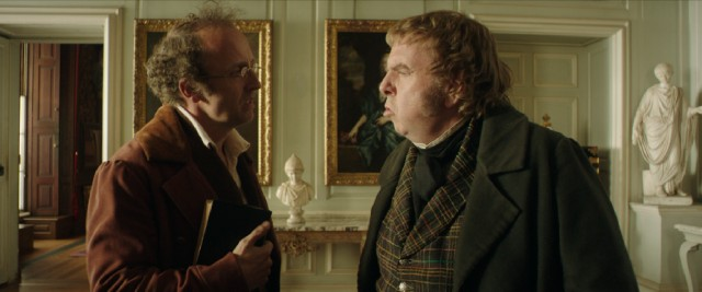 Mr. Turner (Timothy Spall) does not take kindly to conversation initiated by others.