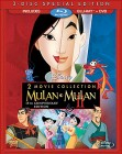 Mulan: 2 Movie Collection Blu-ray + DVD cover art -- click for larger view