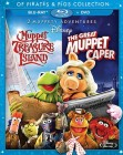 Muppet Treasure Island & The Great Muppet Caper: Of Pirates & Pigs Collection Blu-ray + DVD combo pack cover art -- click for larger view and to preorder.