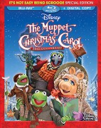 The Muppet Christmas Carol: 20th Anniversary It's Not Easy Being Scrooge Special Edition Blu-ray + Digital Copy cover art -- click to buy from Amazon.com