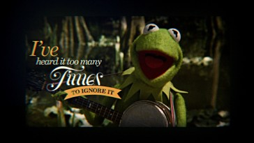 The Frog-E-Oke Sing-Along, also seen as Disney Intermission, play three of the movie's better song with animated lyrics.