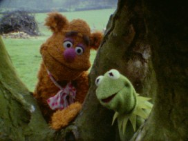 Fozzie Bear and Kermit the Frog venture out into the real world in director Jim Frawley's extended camera test.
