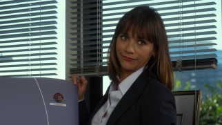 Cynical television network executive Veronica Martin (Rashida Jones) reminds the Muppets of their diminished cultural relevance.