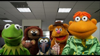 The Muppets assemble for a read-through in what itself stands as an entertaining screen test.