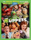 The Muppets (2011): The Wocka Wocka Value Pack Blu-ray + DVD + Digital Copy + Soundtrack Download combo cover art -- click to buy from Amazon.com