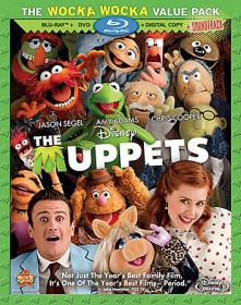 The Muppets: The Wocka Wocka Value Pack (Blu-ray + DVD + Digital Copy + Soundtrack Download) cover art