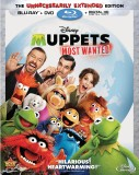 Muppets Most Wanted (2014): The Unnecessarily Extended Edition Blu-ray + DVD + Digital HD Digital Copy combo pack cover art -- click to buy from Amazon.com