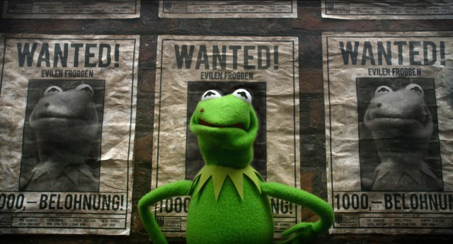 "In ""Muppets Most Wanted"", Kermit the Frog discovers he bears an uncanny resemblance to wanted fugitive Constantine."