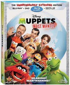 Muppets Most Wanted: The Unnecessarily Extended Edition Blu-ray + DVD + Digital HD Digital Copy cover art