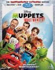 Muppets Most Wanted Blu-ray combo pack cover art