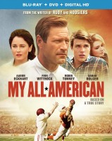 My All American: Blu-ray + DVD + Digital HD combo pack cover art -- click to buy from Amazon.com