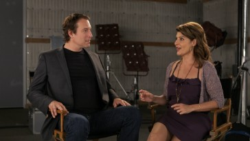 """A Look Back"" reunites John Corbett and Nia Vardalos for the first time since ""I Hate Valentine's Day."""
