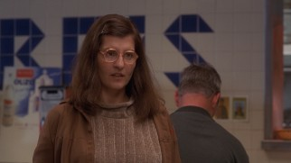 """My Big Fat Greek Wedding"" stars Nia Vardalos as Toula Portokalos, the frumpy seating hostess of her family's restaurant."