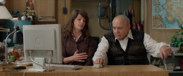 In a bit that would have felt dated back in 2002, Toula (Nia Vardalos) teaches her father (Michael Constantine) how to use a computer, starting with the mouse.