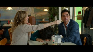 Rita Wilson and John Stamos exhibit the effects of shooting a scene with Andrea Martin in the MBFGW2 gag reel.