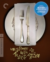 My Dinner with Andre: The Criterion Collection Blu-ray Disc cover art -- click to buy from Amazon.com