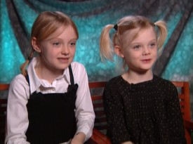 It doesn't seem that long ago that actresses Dakota and Elle Fanning looked this young.