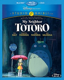 My Neighbor Totoro Blu-ray + DVD combo pack cover art -- click to buy from Amazon.com